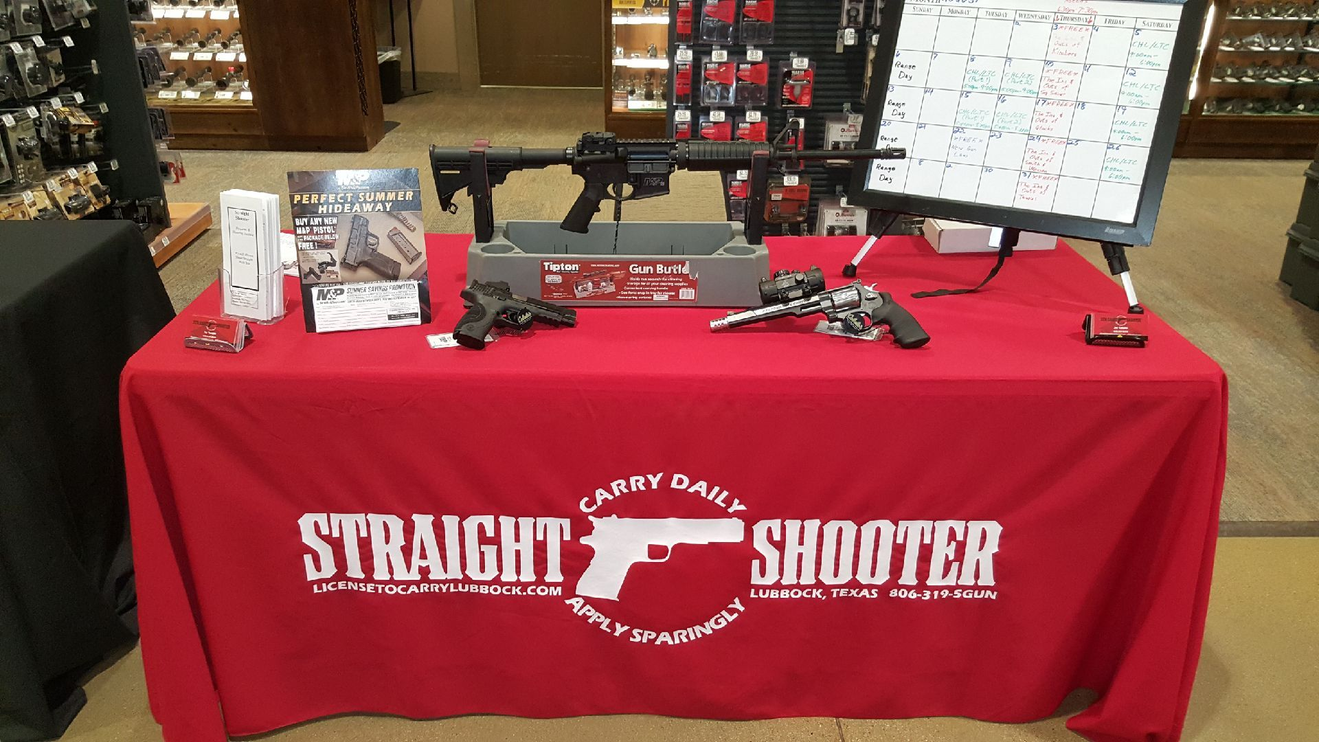 Straight Shooter Booth